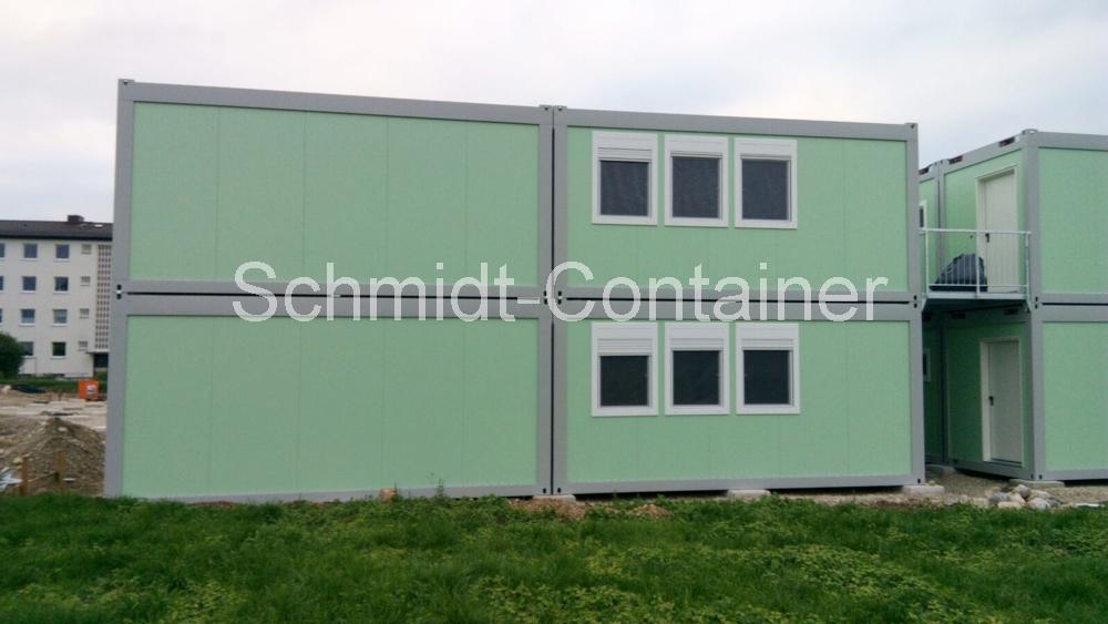 Wohncontaineranlage, bestehend aus 32 St. Container