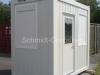 Pförtnercontainer / Kassencontainer (LxBxH) 2989 x 1750 x 2765mm(Sondergröße auf Kundenwunsch), isoliert. Rauminnenhöhe 2500mm.