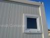 Sanitärcontainer: Fenster