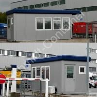 Pförtnercontainer 20 Fuß mit WC-Raum