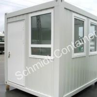 Pförtnercontainer / Kassencontainer für 2 Arbeitsplätze