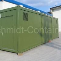 Aggregatecontainer / Technikmodul 30 Fuß für Biogasanlage