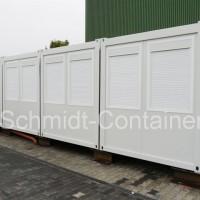 Bürocontaineranlage mit WC (Damen / Herren) und Teeküche neu kaufen