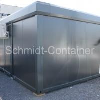 Verkaufspavillon, Verkaufscontaineranlage 3x16 Fuß Container