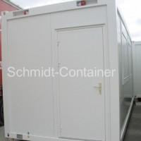 Bürocontainer mit WC Toilette Sanitärraum neu, Wohncontainer