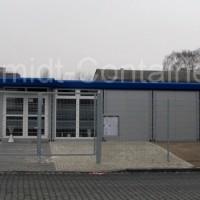 Containeranlage für Sozialstation