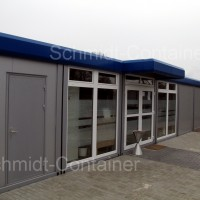Bürocontaineranlage/Aufenthaltsanlage als Sozialstation