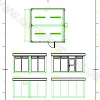 Container Pavillon Besprechungsraum 2x16' ca. 4880 x 4880m neu kaufen Schmidt-Container