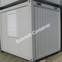 Bürocontainer 10 Fuß, Aufenthaltscontainer, Raummodul