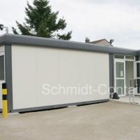 Kita-Containeranlage / Containerkindergarten