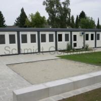 Containerkindergarten / Kita-Raummodulanlage