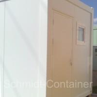 Container mit Sanitärraum Dusche / WC