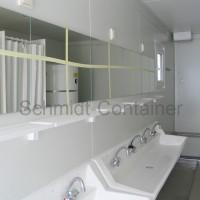 Duschcontainer 20 Fuß / Sanitärmodul