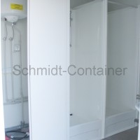 Duschkabine GFK, Sanitärcontainer, Duschcontainer