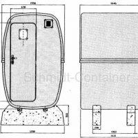 GFK Container (Beispielgrundriss)
