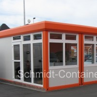 Imbisscontaineranlage / Kioskcontainer