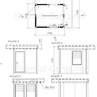 Kassencontainer neu kaufen von Schmidt-Container