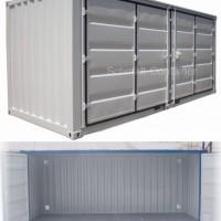 Lagercontainer mit Falttür neu kaufen