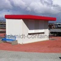 Pförtnercontainer 16 Fuß (4,880 x 2,435m) für 2 Arbeitsplätze
