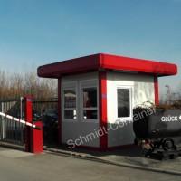 Kassencontainer / Pförtnercontainer isoliert (100mm) 2,989 x 2,435m