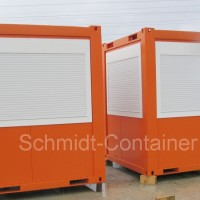 Pförtnercontainer, Kassencontainer, Kontrollstation