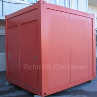 Sanitärmodul, WC-Container 10 Fuß (Damen / Herren WC), 2,989 x 2,435m.