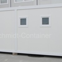 WC-Container, WC-Modul: Sanitärcontainer Damen- / Herren WC 20 Fuß