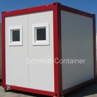 sanitärcontainer Damen Herren WC, Sanitärmodul, WC-Container 10 Fuß (Damen / Herren WC)