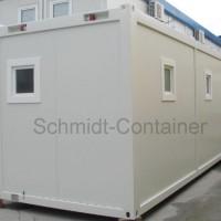 Sanitärcontainer, WC-Container, WC-Modul 30 Fuß (Damen- /Herren- /Behinderten WC)