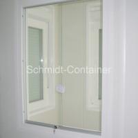 Schiebefenster innen (Pförtnercontainer, Kassencontainer, Wiegehauscontainer)