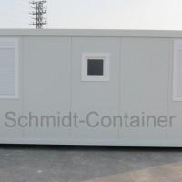 Schwarz-Weiß-Container 20 Fuß