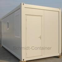 Schwarz-Weiß-Container 20 Fuß, neu zum Kauf.