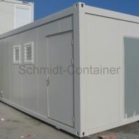 Wchwarz-Weiß-Containermodul