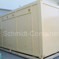 Technikcontainer 20 Fuß / Feuerlöschcontainer