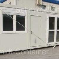 Technikcontainer für eine Versuchsanlage