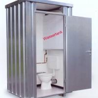 WC-Box, Toilettenbox SC-2 mit Frischwassertank, unisoliert.