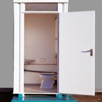 WC-Box, Toilettenbox SC-2 mit Frischwasser- / und Fäkalientank, unisoliert.