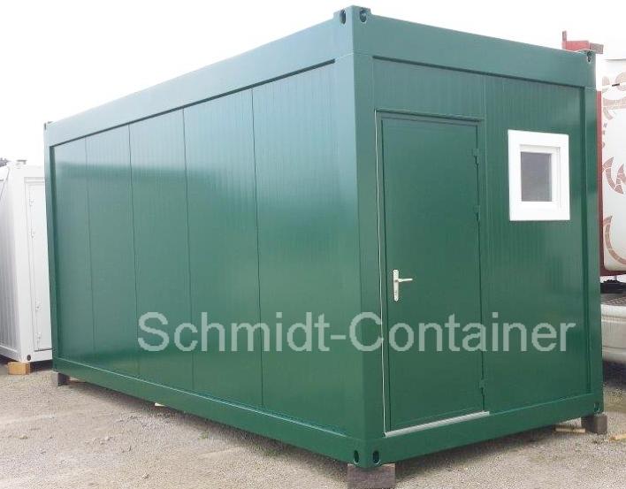 Wohncontainer Asylunterkunft