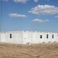 Wohncontaineranlage, Containercamp / Feldlager