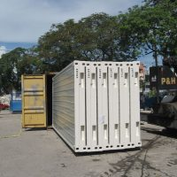 Zerlegbare Container