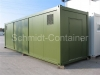 Technikcontainer / Aggregatecontainer für Biogasanlage